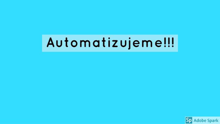 Automatizujeme-post