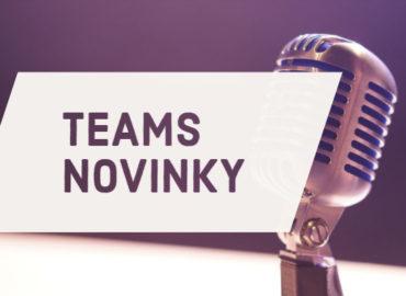 Banner Teams Novinky