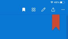 Záložka OneDrive Mac
