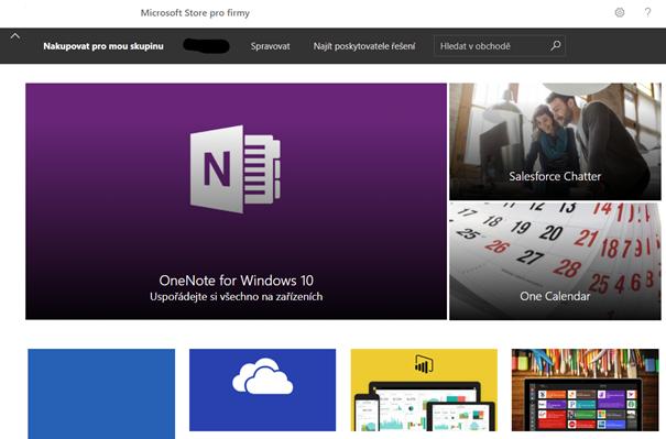 Microsoft Store pro Firmy