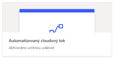 Power Automate Automatický cloudový tok